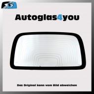 Heckscheibe - Rückwand Zierleiste passend für Opel Omega > Omega Kombi - Baujahr ab 1986 - Sekuritglas - grün - Antennenanschluss