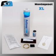 Scheibenkleber - Montageset - XL für Ersatzverglasungen von Autoglasscheiben