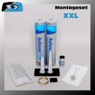 Scheibenkleber - Montageset - XXL für Ersatzverglasungen von Autoglasscheiben